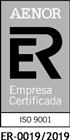 AENOR - Empresa Registada